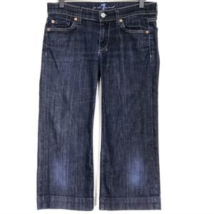 7 For All Mankind The Dojo Cropped Jeans